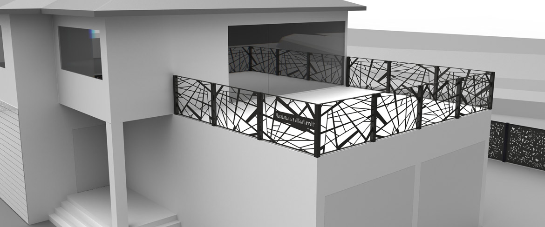 Versus design projekte environmental design fendes zaun co - Design gartenzaun ...